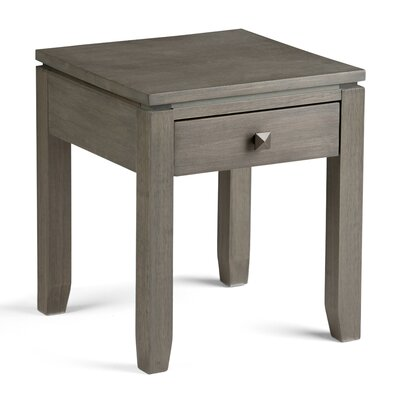 Cosmopolitan End Table Color: Farmhouse Grey