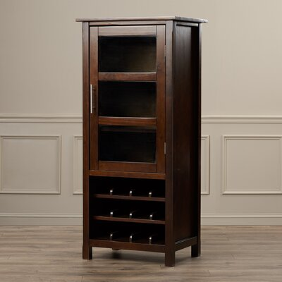 Avalon Bar with Wine Storage