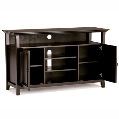 Amherst 54 TV Stand Color: Dark Espresso Brown