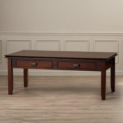 Artisan Coffee Table Finish: Medium Auburn Brown