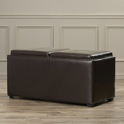 Avalon 3 Piece Upholstered Storage Ottoman Set