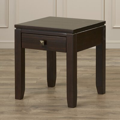 Cosmopolitan End Table Color: Coffee Stain