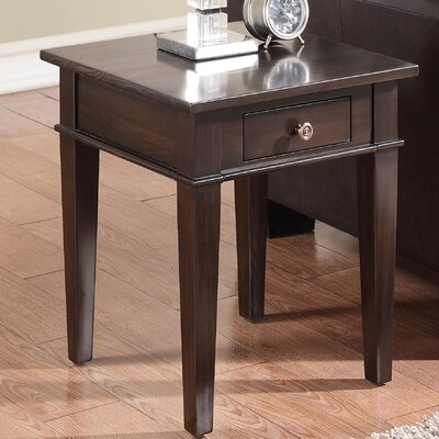 Carlton End Table Color: Brown