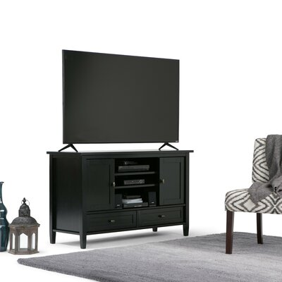 Warm Shaker 47 TV Stand Color: Black