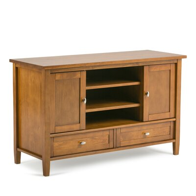 Warm Shaker 47 TV Stand Color: Brown
