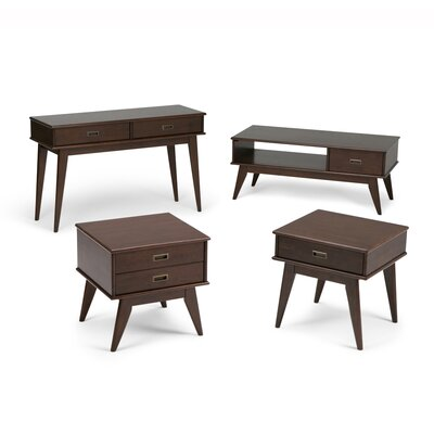 Draper 4 Piece Coffee Table Set