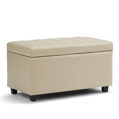 Darcy Storage Ottoman Upholstery: Satin Cream