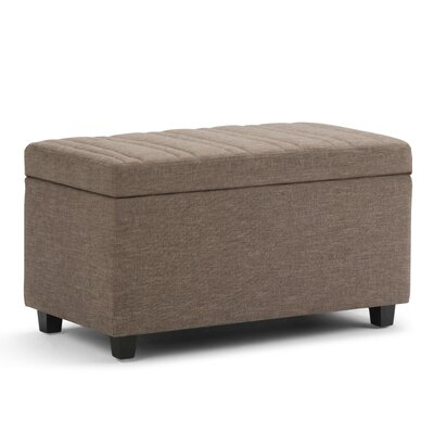 Darcy Storage Ottoman Upholstery: Fawn Brown