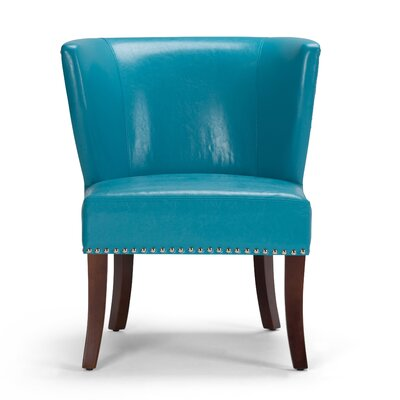 Jamestown Slipper Chair Upholstery: Mediterranean Blue