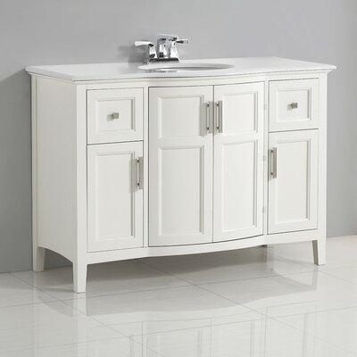 Winston 49 Single Rounded Front Bath Vanity Set