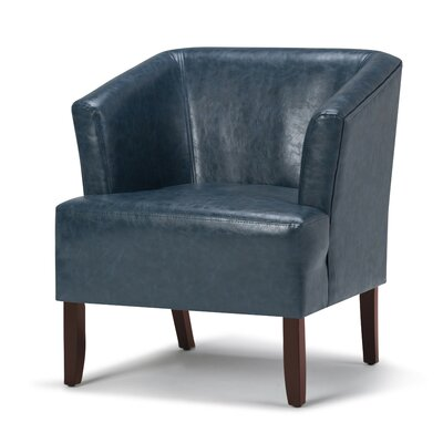 Longford Armchair Upholstery: Denim Blue