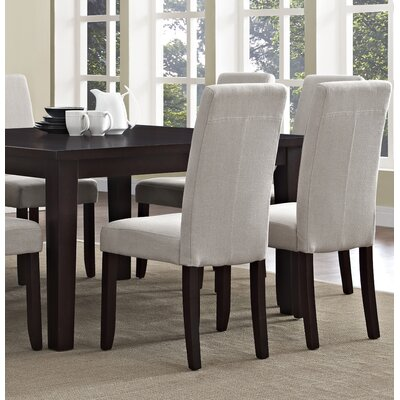 Acadian 9 Piece Dining Set Chair Finish: Natural