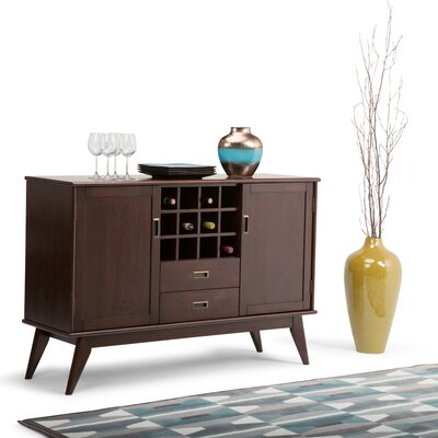 Draper Mid Century Buffet Table