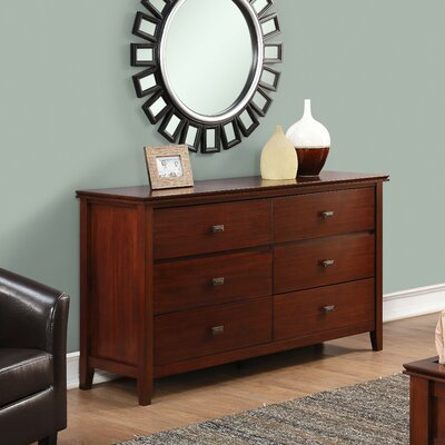 Artisan 6 Drawer Double Dresser