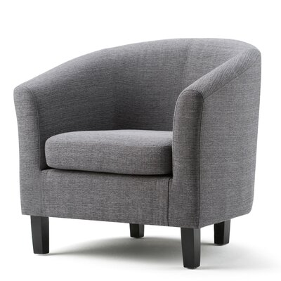 Austin Barrel Chair Upholstery: Gray