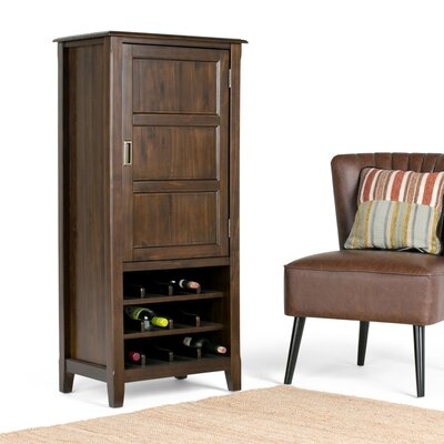 Burlington 12 Bottle Floor Wine Cabinet
