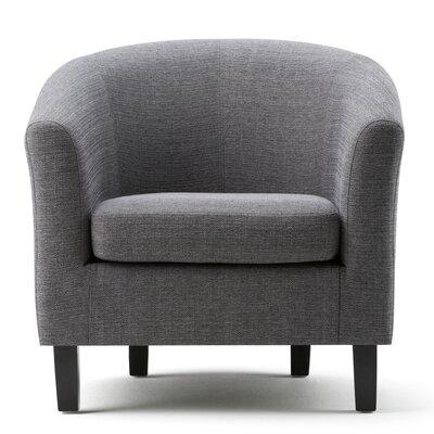 Austin Barrel Chair Upholstery: Gray