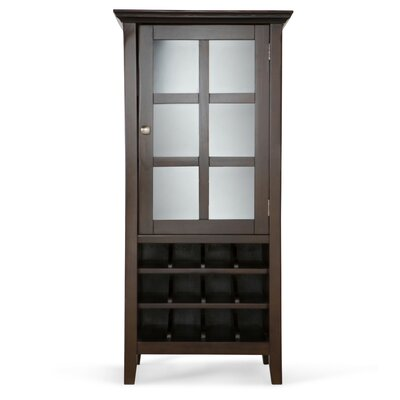Acadian 12 Bottle Floor Wine Cabinet