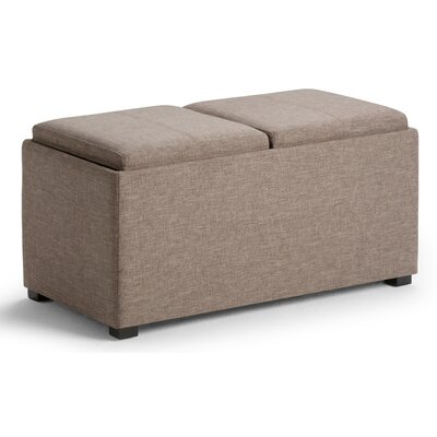 Avalon 5 Piece Rectangular Storage Ottoman Set