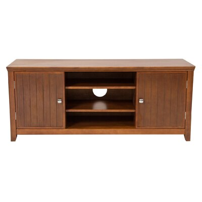 Acadian TV Stand Finish: Avalon Light Brown