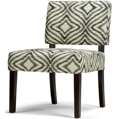 Virginia Slipper Chair Upholstery: Gray