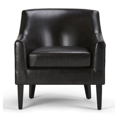 Pauline Club Chair Color: Tanners Brown