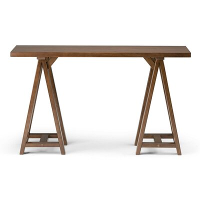 Sawhorse Console Table