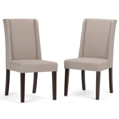 Sotherby Parson Chair Upholstery Type: Natural Linen