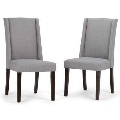 Sotherby Parson Chair Upholstery Type: Dove Gray Linen