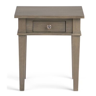 Carlton End Table Finish: Farmhouse Gray