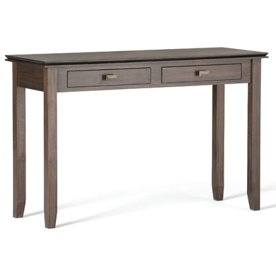 Artisan Console Table Finish: Natural Aged Brown