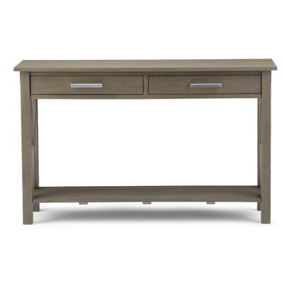 Kitchener Console Table Finish: Farmhouse Gray