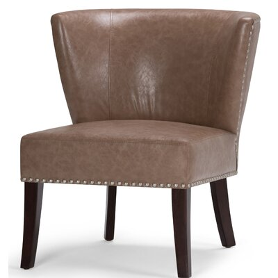 Jamestown Barrel Chair Upholstery: Dark Taupe