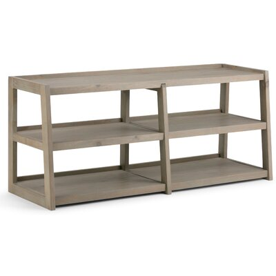 Sawhorse 60 TV Stand Color: Distressed Gray