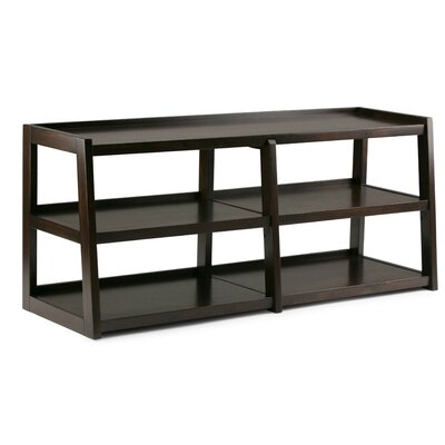 Sawhorse 60 TV Stand Color: Dark Chestnut Brown