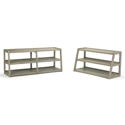 Sawhorse Media 48 TV Stand Color: Distressed Gray