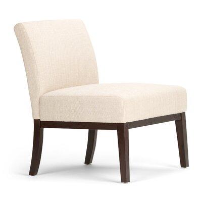 Upton Slipper Chair Upholstery: Natural