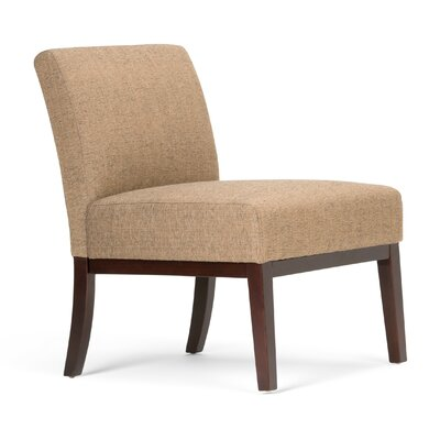 Upton Slipper Chair Upholstery: Brown