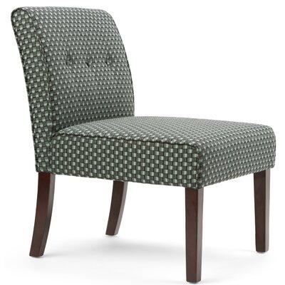 Sallybrook Slipper Chair Upholstery: Green