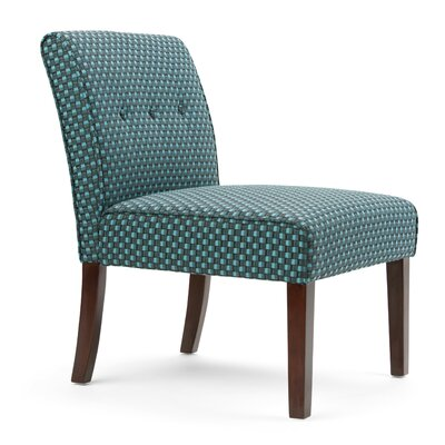 Sallybrook Slipper Chair Upholstery: Teal