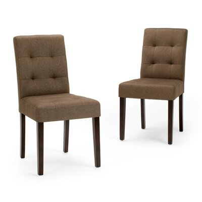 Andover Side Chair Finish: Brown