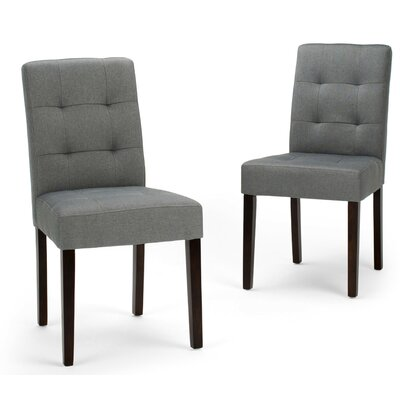 Andover Side Chair Finish: Denim Gray