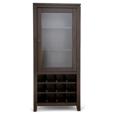 Cosmopolitan 12 Bottle Floor Wine Cabinet