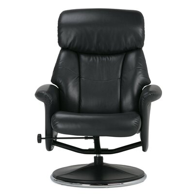 Carson Manual Swivel Glider Recliner With Ottoman