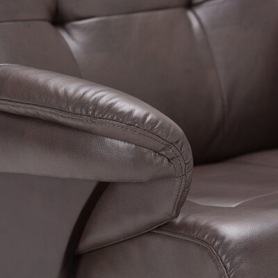 Merrin Manual Swivel Glider Recliner With Ottoman