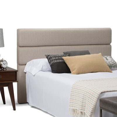 Ciara Queen Upholstered Panel Headboard