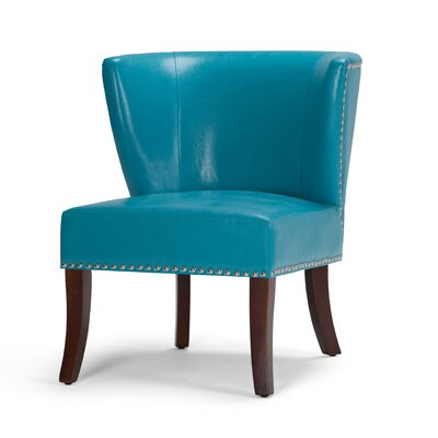 Jamestown Barrel Chair Upholstery: Mediterranean Blue