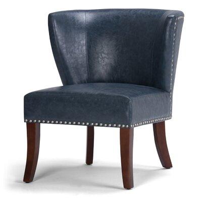 Jamestown Barrel Chair Upholstery: Denim Blue