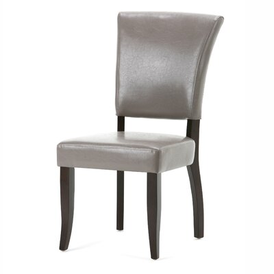 Joseph Deluxe Side Chair Upholstery: Taupe