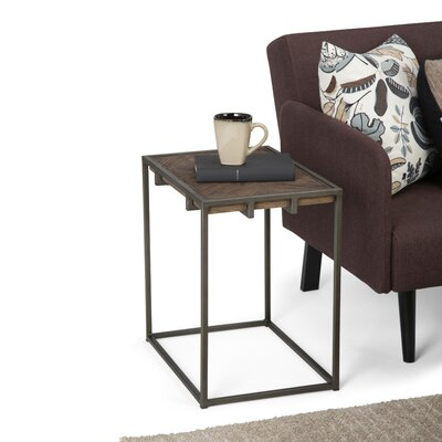 Avery Narrow End Table Size: 20 H x 14 W x 20 D